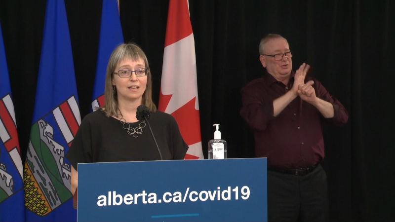 Dr. Deena Hinshaw, Alberta CMOH
