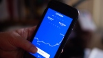 Cryptocurrency exchange Coinbase Global is set to go public April 14 at a valuation of a whopping $65 billion, as the company takes advantage of surging demand (and prices) for bitcoin, ethereum and other digital currencies. (Tiffany Hagler-Geard/Bloomberg/Getty Images)