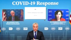 White House COVID-19 response team holds a briefin