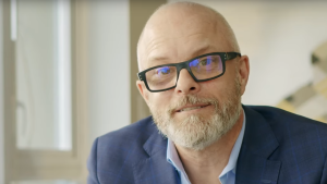 Mark Marissen is seen in a campaign video posted on YouTube.