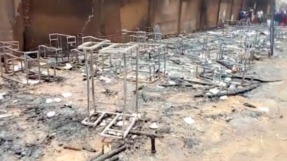 After a deadly fire at a school in Niamey, Niger