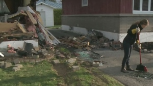 Driver, 37, killed after crashing into home