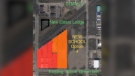 This image shows Adam Pollock's proposed Parcel P site for a new school. (Courtesy Adam Pollock)