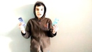 Rashid Heydar-Zada, 9, in his video submission for a national financial literacy competition.