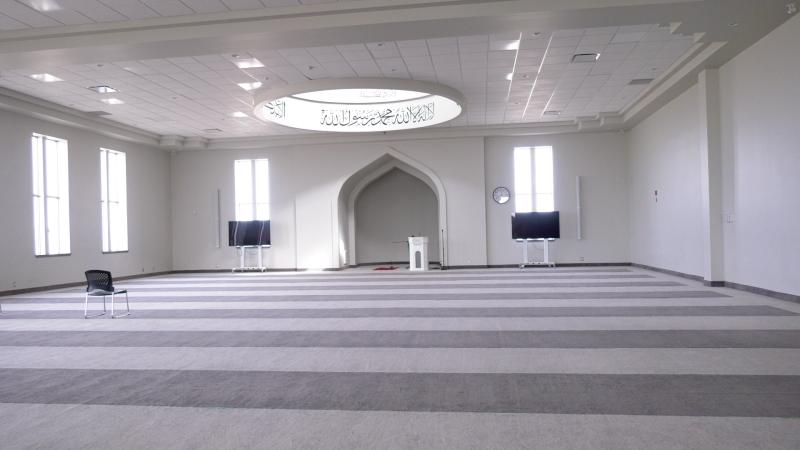 The Baitur Rahmat Mosque in Saskatoon. (Dale Cooper/CTV Saskatoon)