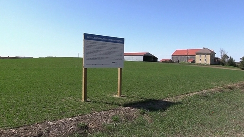 Water Walk wraps at proposed nuclear waste site