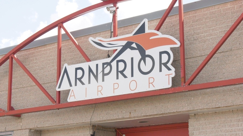 The Arnprior Airport. (Dylan Dyson/CTV News Ottawa)