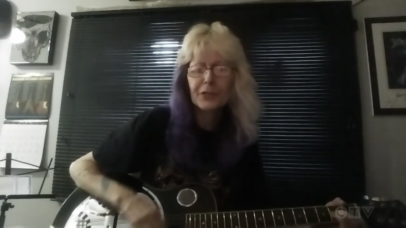 Sudbury guitar teacher covers Kiss song