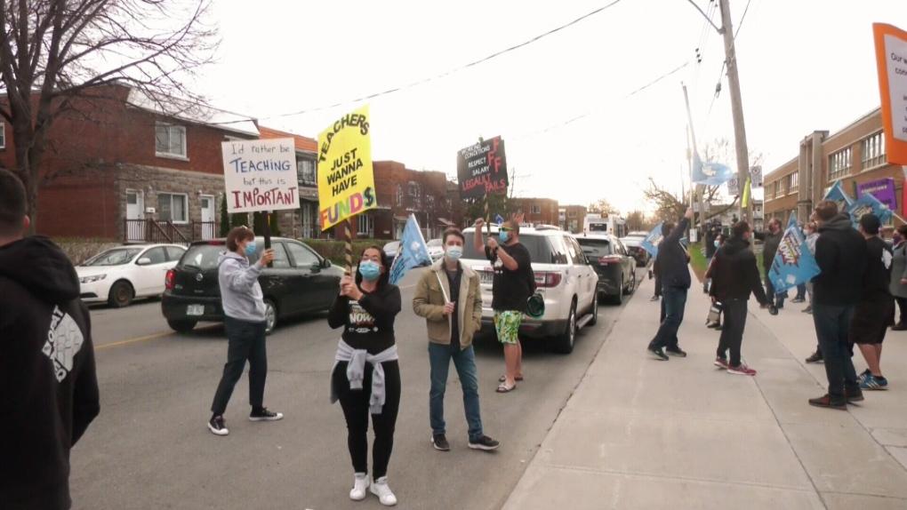 Quebec teachers strike