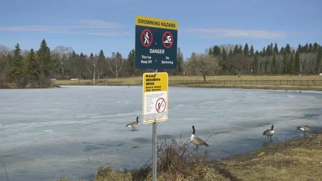 Hawrelak Park Lake