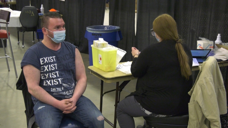Vaccination clinic opens on Enoch Cree Nation
