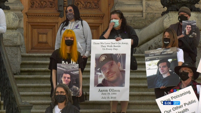 B.C. marks 5 years in overdose crisis