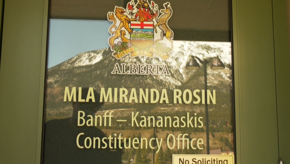 Miranda Rosin was one of more than a dozen UCP MLAs that signed on to a letter pushing back against the province's restrictions regarding the COVID-19 pandemic.