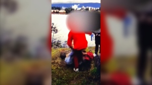 Nanaimo mother speaks after son beaten, stripped