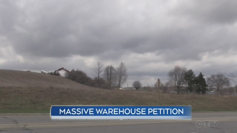warehouse petition