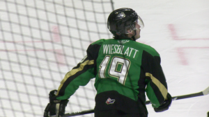 Prince Albert Raiders' forward Ozzy Wiesblatt currently leads the team with 19 points, through 16 games in 2021.