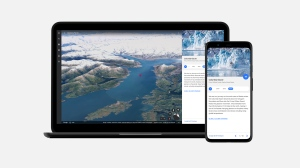 Google's latest feature, Timelapse, is an eye opening, technical feat that provides visual evidence of how the Earth has changed due to climate change and human behaviour. (Courtesy Google)