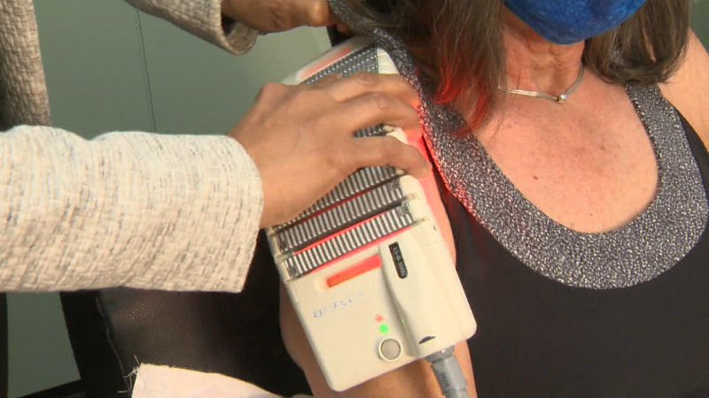 Alberta Laser Rehabilitation Centre uses cutting edge technology to help patients fight nagging pain and injuries