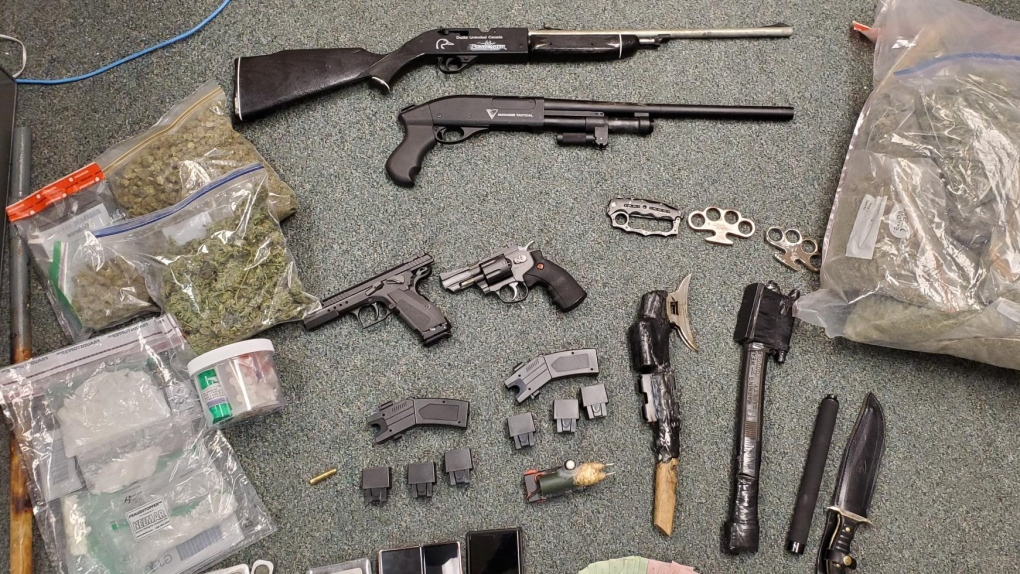wrps drugs and weapon bust