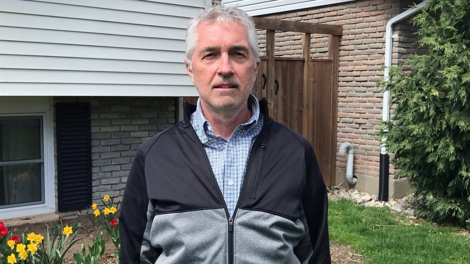 Rick Robson, the executive director of the London Police Association, the union equivalent organization that represents front-line officers, is seen in London, Ont. on Wednesday, April 14, 2021. (Sean Irvine / CTV News)