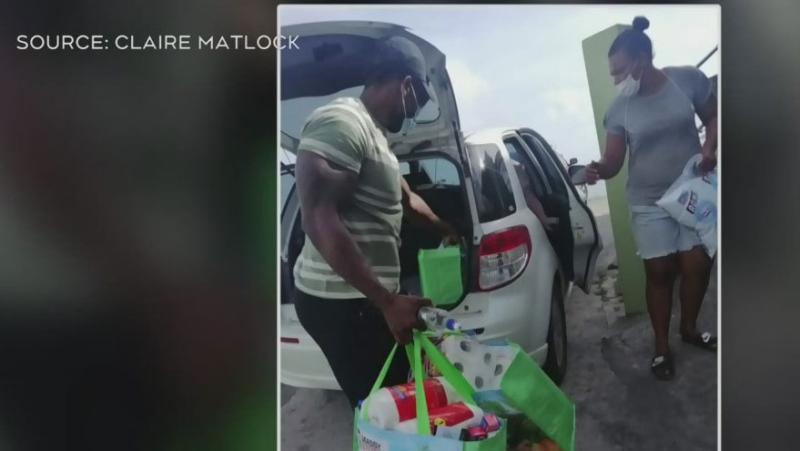 Med student helps people after volcano eruption