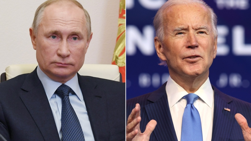 The Biden administration slapped sweeping sanctions on Russia April 15 over Moscow's alleged interference in the 2020 election, the massive SolarWinds hack and the ongoing occupation of Crimea, signaling it is adopting a tougher posture toward the Kremlin and Russian President Vladimir Putin. (Getty Images via CNN)