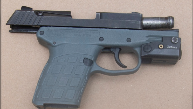 A loaded handgun was seized inside a residence in Halifax. (Courtesy: Halifax Regional Police)