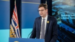 David Eby, Attorney General and Minister Responsible for Housing, annnounces an additional $2 billion for B.C.'s HousingHub program: April 15, 2021 (Province of B.C. / Flickr)