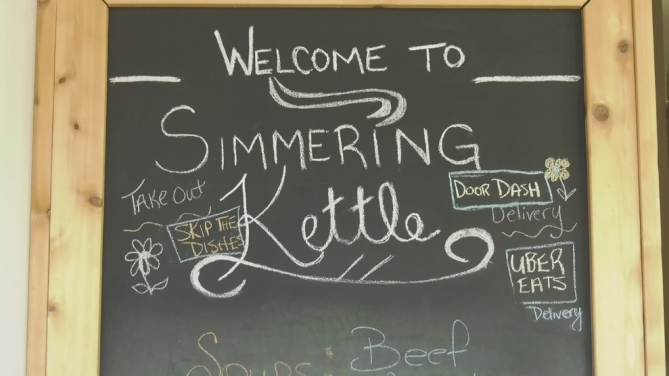 The Simmering Kettle in Barrie, Ont. on Thurs. April 15, 2021 (Dana Roberts/CTV News)