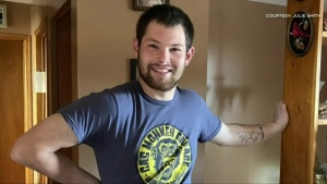 Andrew Saulnier has a long road ahead of him after the 24-year-old fisherman was seriously injured onboard on a lobster boat Saturday morning.