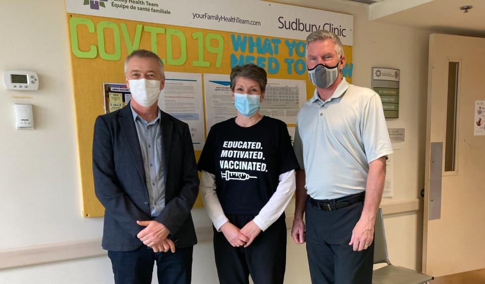 Sudbury vaccines health teams