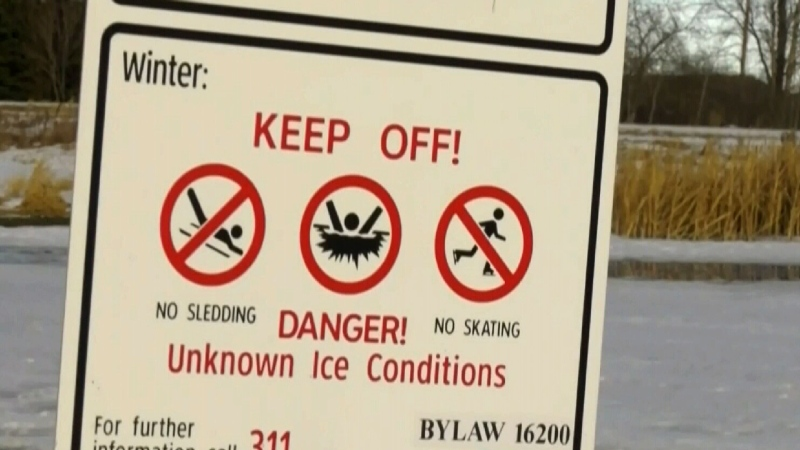 Ice rescues for dogs in Edmonton increase