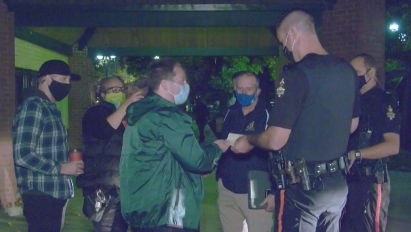 Timothy Slaney was given 17 tickets from Lethbridge's bylaw services for operating a service in a city park without a permit in late 2020.