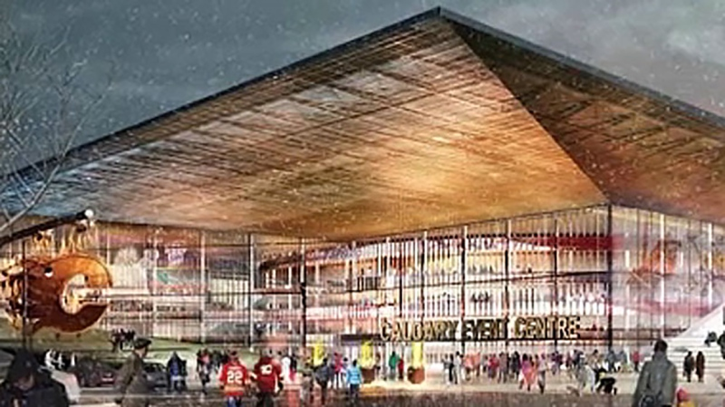 An Alberta taxpayers' advocacy group says Calgary city council should consider cancelling the new arena project, which has been put on pause due to a budget dispute