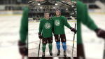 Brad and Riley Ginnell spent a short pre-season together with the SJHL's Flin Flon Bombers before joining their respective WHL teams in the Regina hub.