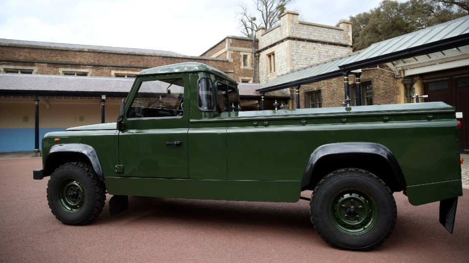Prince Philip's custom Jaguar Land Rover