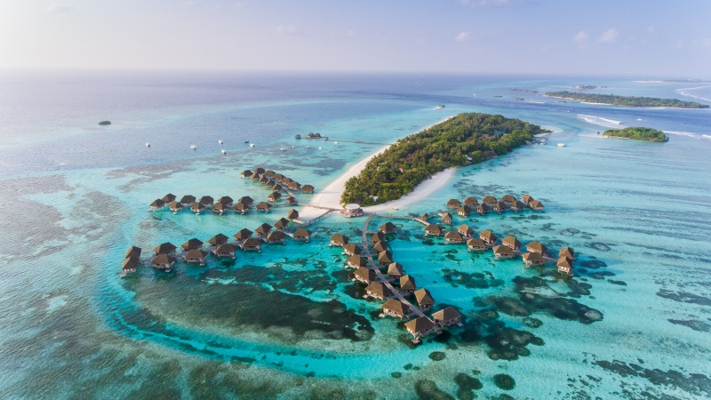 Maldives was one of the first destinations to reopen to all tourists during the pandemic. (Shutterstock via CNN)