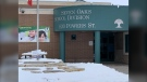 The Seven Oaks School Division bought 75,000 respirator masks for its staff. (Source: Jamie Dowsett/CTV News)