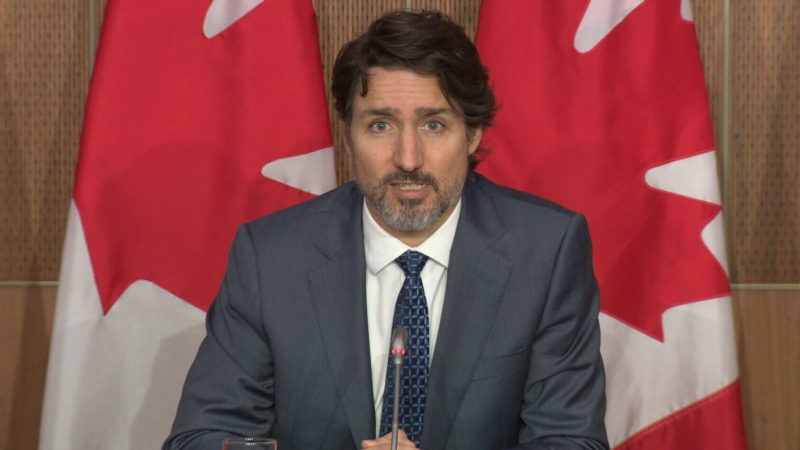 Trudeau: Feds 'standing by' to help Ontario