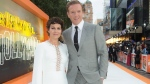 "Actors Helen McCrory, left, and Damian Lewis appear at the premiere of ""Once Upon A Time in Hollywood,"" in London on July 30, 2019. McCrory, who starred in the television show ""Peaky Blinders"" and the ""Harry Potter"" movies, has died. She was 52 and had been suffering from cancer. Her husband, actor Damian Lewis, said Friday that McCrory died ""peacefully at home"" after a ""heroic battle with cancer."" (Photo by Joel C Ryan/Invision/AP, File)"