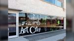 Art City's headquarters in Winnipeg (Photo by Daniel Halmarson)
