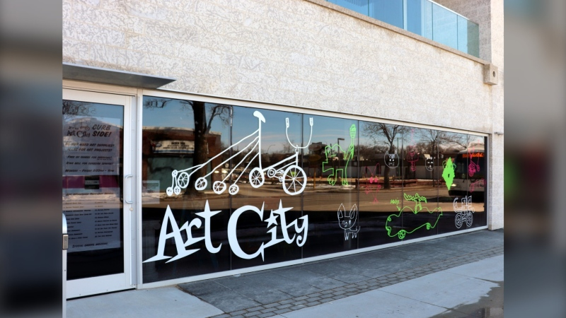 Art City's headquarters in Winnipeg (Photo by Daniel Halmarson)