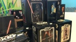 Gilda's Club Simcoe Muskoka holds an online auction for Star Wars memorabilia from April 16 to May 6, 2021 (KC Colby/CTV News)