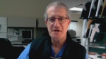 Dr. Barry Nathanson, Chief of Staff at Stevenson Memorial Hospital in Alliston, Ont. on Fri. April 16, 2021 (Craig Momney/CTV News)