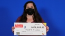 Nicole Higgs of London, Ont. won $1 million playing Instant Big 10. (OLG/Supplied)