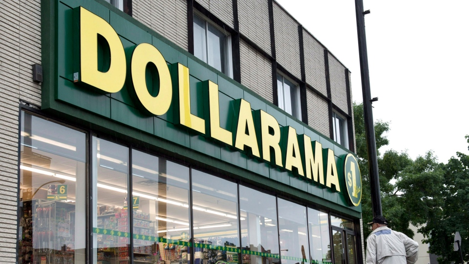 A Dollarama store is seen Tuesday, June 11, 2013 in Montreal. THE CANADIAN PRESS/Paul Chiasson