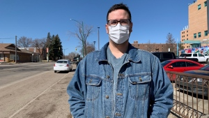 Prairie Harm Reduction executive director Jason Mercredi.