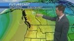 Hot and cold weekend ahead
