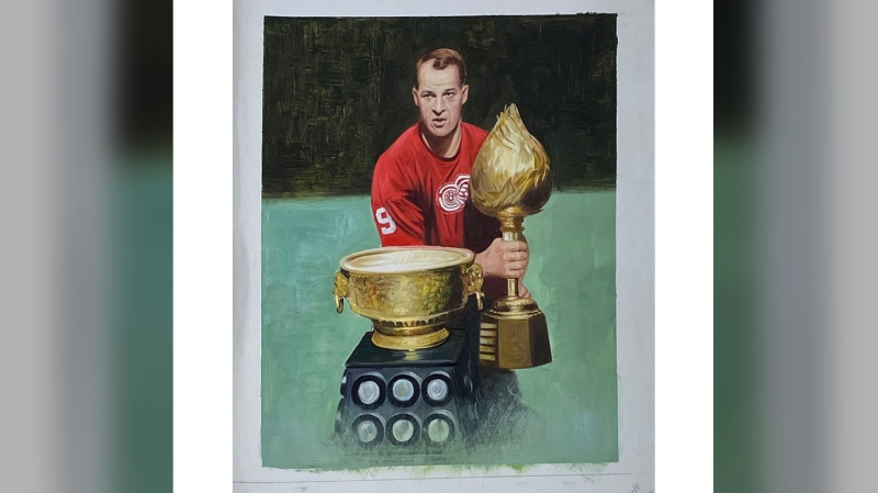 The personal effects of Gordie and Mark Howe are up for auction at the NHL Auctions website.