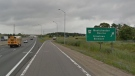 EB Highway 401 exit at Westchester Bourne near London, Ont. (Google)